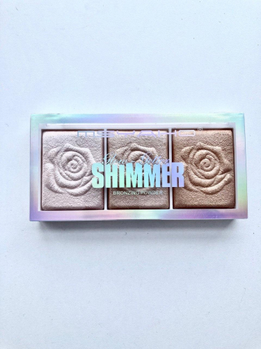 Хайлайтер MSYAHO Shimmer Highlighter 3 Color (тон 02)