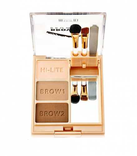 Milani Тени для бровей Brow Fix Brow Kit тон Light