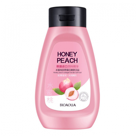 Соль для ванн Bioaqua Honey Peach Мед и Персик