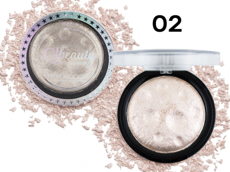 Хайлайтер SeVen Cool O!beauty Glow Highlighter, 1 цвет тон 02